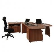 Кабинеты руководителя, офисная мебель для персонала