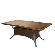 Столы и плетеные столики