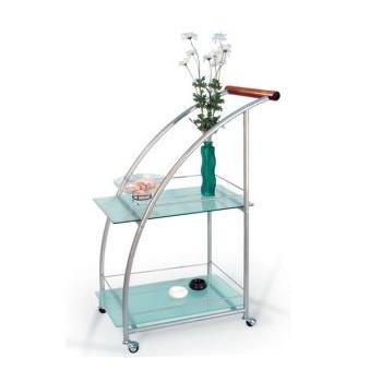 Сервировочный столик Баккара, металлик