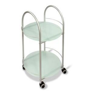 Сервировочный столик Гольф, металлик