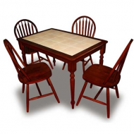 Стол RED 3045 (махагон)