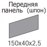 Передняя панель шпон