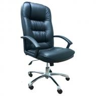 Кресло руководителя 9944 хром кожа