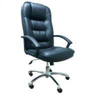 Кресло руководителя 9944 хром экокожа