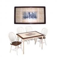 Стол, декорированный плиткой МТ-3659