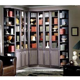Шкаф книжный Версаль-2, тонированное стекло