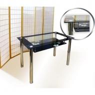 Стол обеденный MT-1611 стеклянный