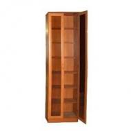 Шкаф книжный Версаль-1, прозрачное стекло