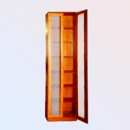 Шкаф книжный Версаль-1, тонированное стекло