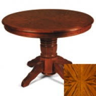 Стол круглый раскладной Tc-4260-2, дуб в красноту Green River