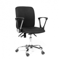 Кресло для персонала Chairman CH-9801 chrome