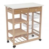 Кухонный столик-тележка В41Н