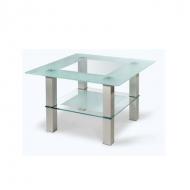 Стол журнальный стеклянный Кристалл-1