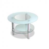 Стол журнальный стеклянный Кристалл-3