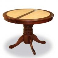 Стол RED 4257T (махагон+бежевая плитка)