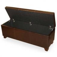 Ящик кожаный для белья Richi-80